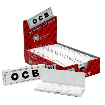 Caixa de OCB White 25 un
