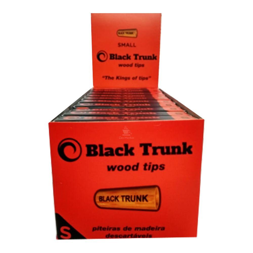 Caixa de Piteira de Madeira Black Trunk Small