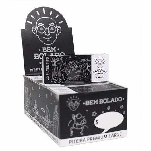 Caixa de Piteira de Papel Bem Bolado Premium Large