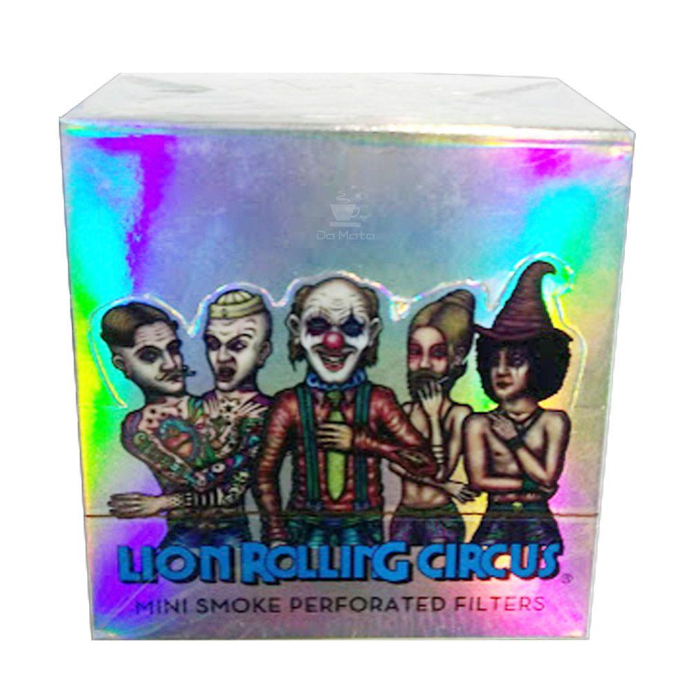 Caixa de Piteira de Papel Lion Rolling Circus Mini Smoke