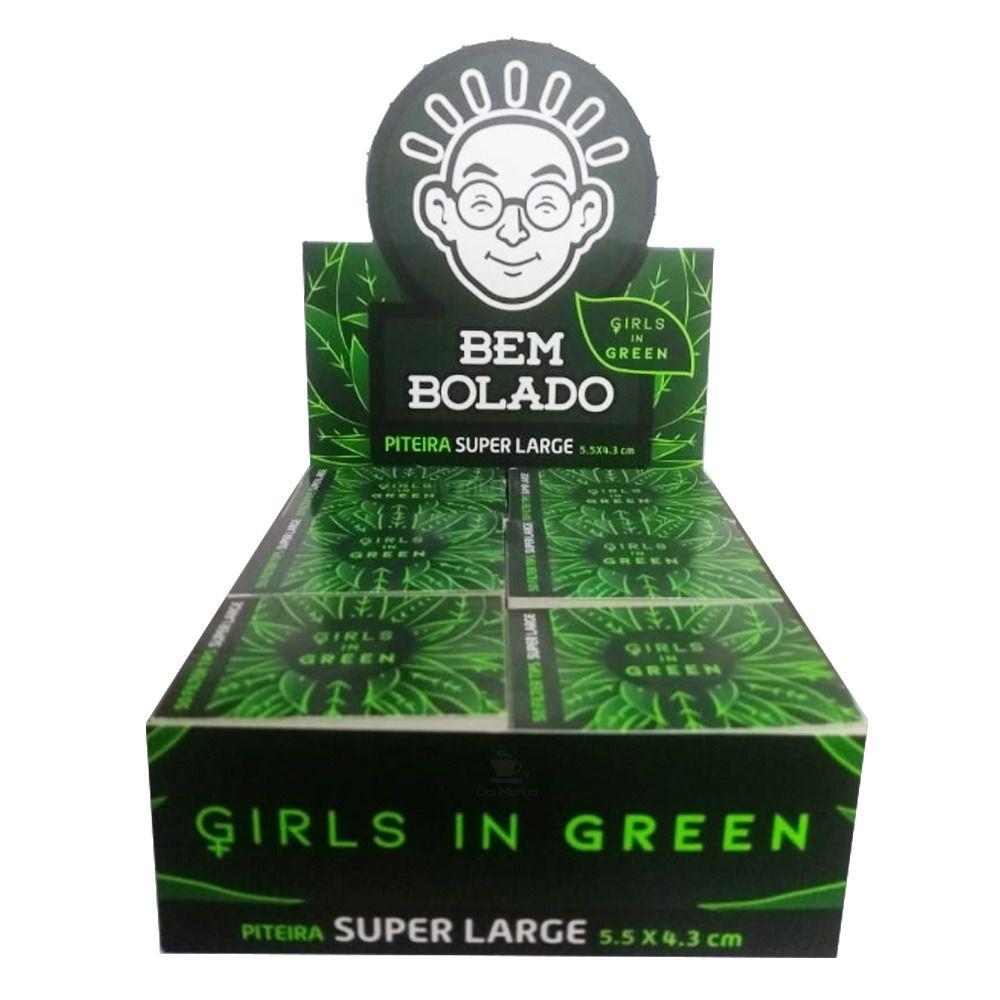 Caixa de Piteira Girls in Green - 24 unidades