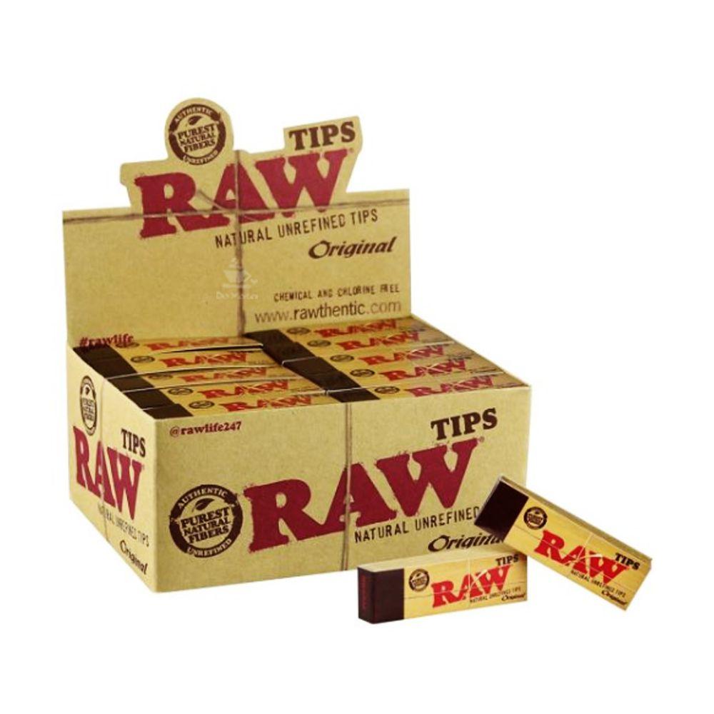 Caixa de Piteira Raw Original