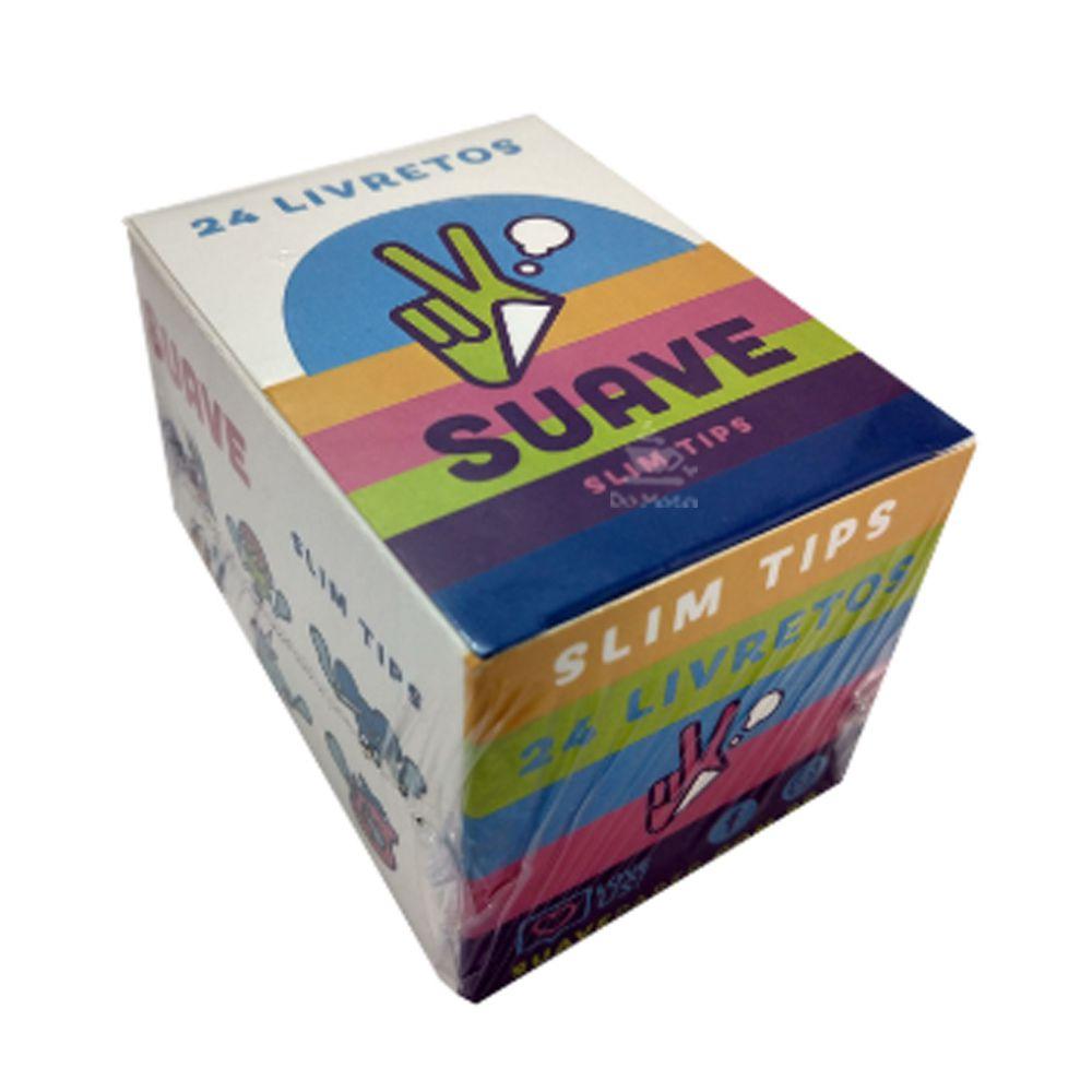 Caixa de Piteira Suave Slim Tips
