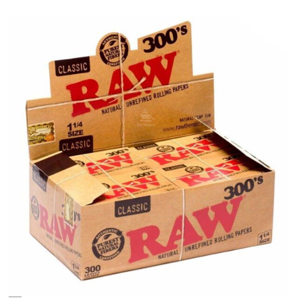 Caixa de Seda Raw Classic 300's