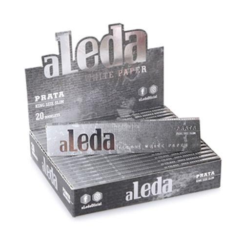 Caixa de Seda aLeda - Prata - King Size