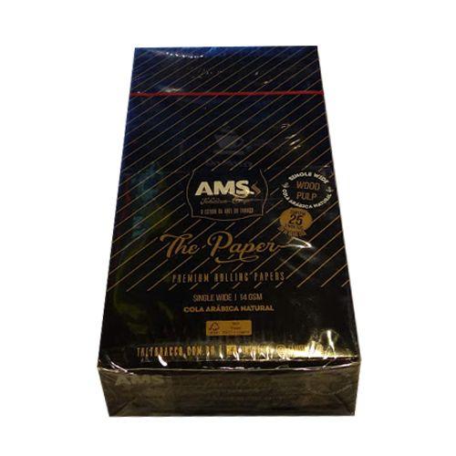 Caixa de Seda AMS Black Single Wide