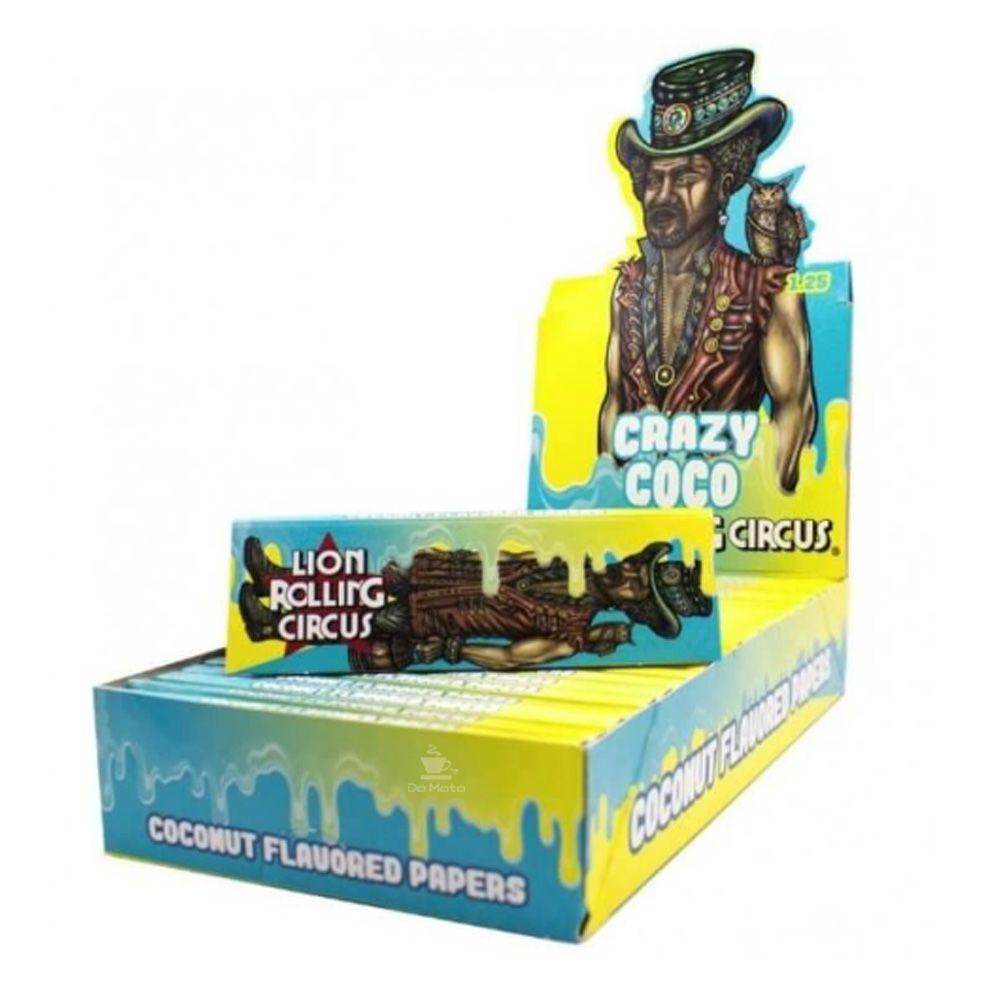 Caixa de Seda Coconut Lion Rolling Circus 1 1/4