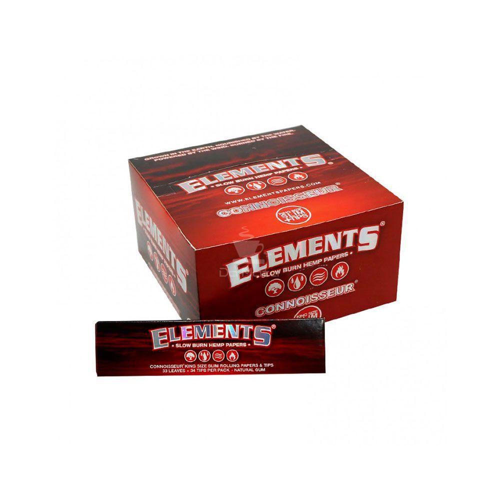 Caixa de Seda Connoisseur Elements 24 unidades