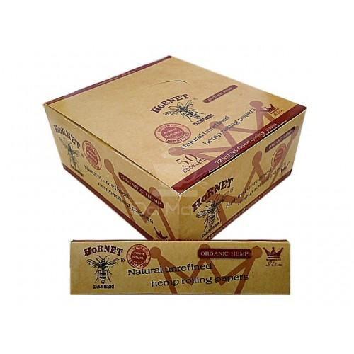 Caixa de Seda Hornet King Size Brown