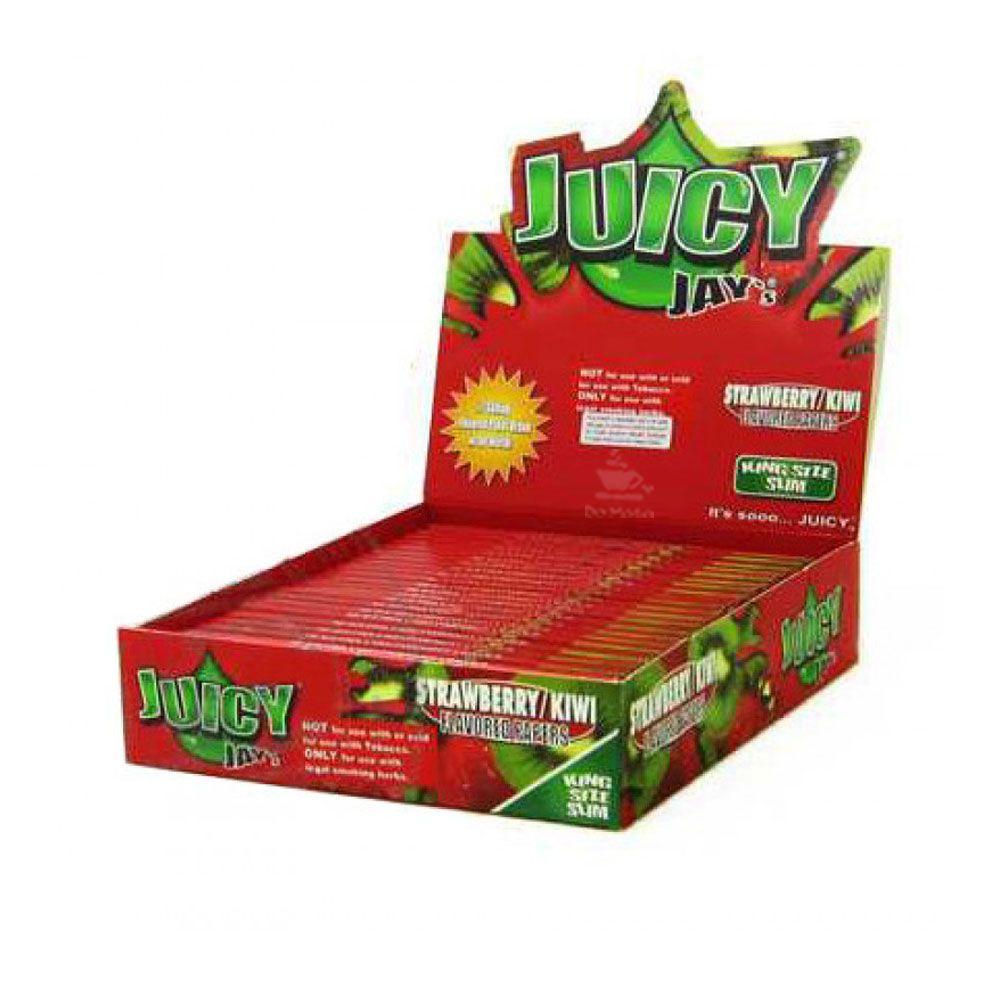 Caixa de Seda Juicy Jay's Strawberry Kiwi