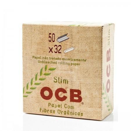 Caixa de Seda OCB Organic com 50 unidades