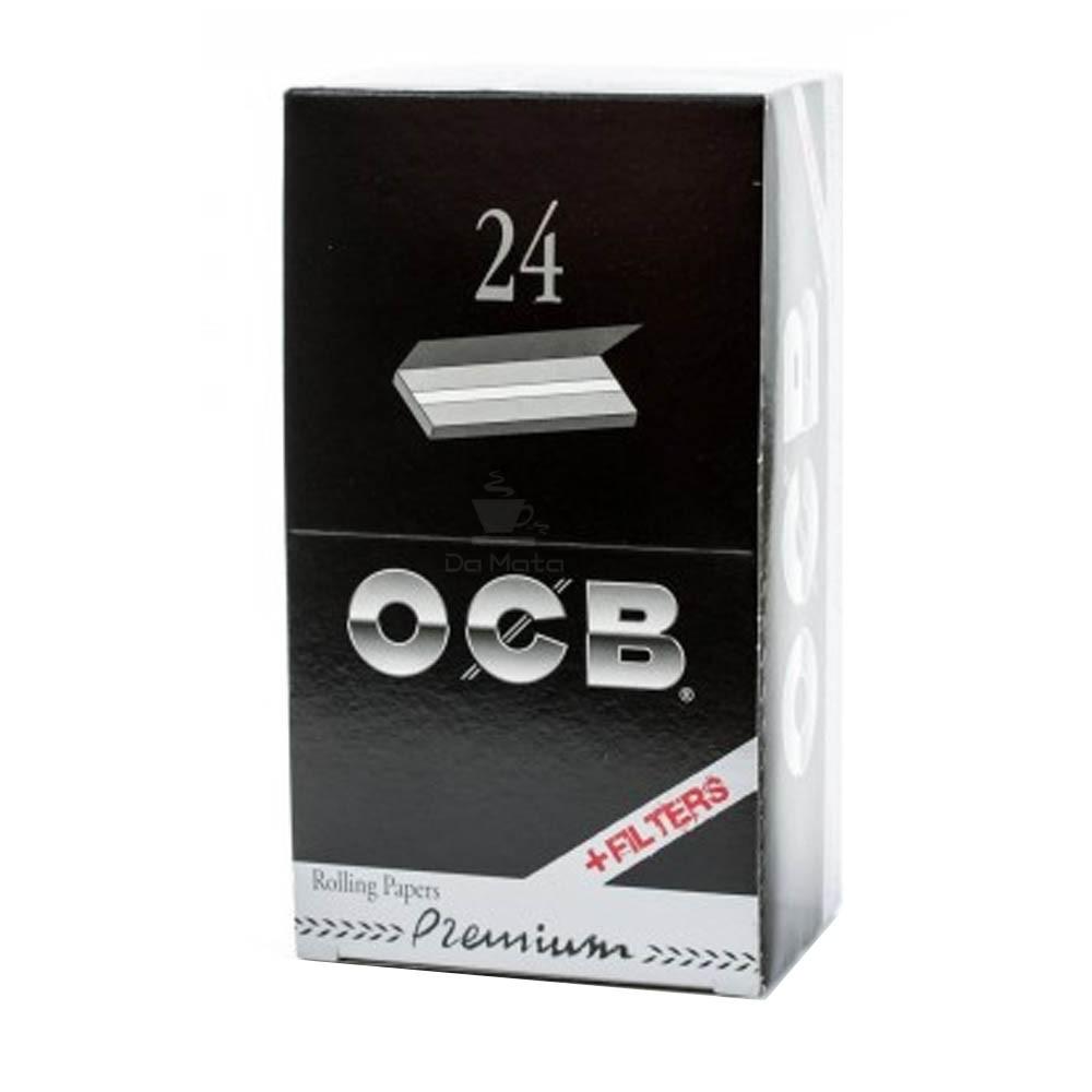 Caixa de Seda OCB Premium 1 1/4 + Piteira