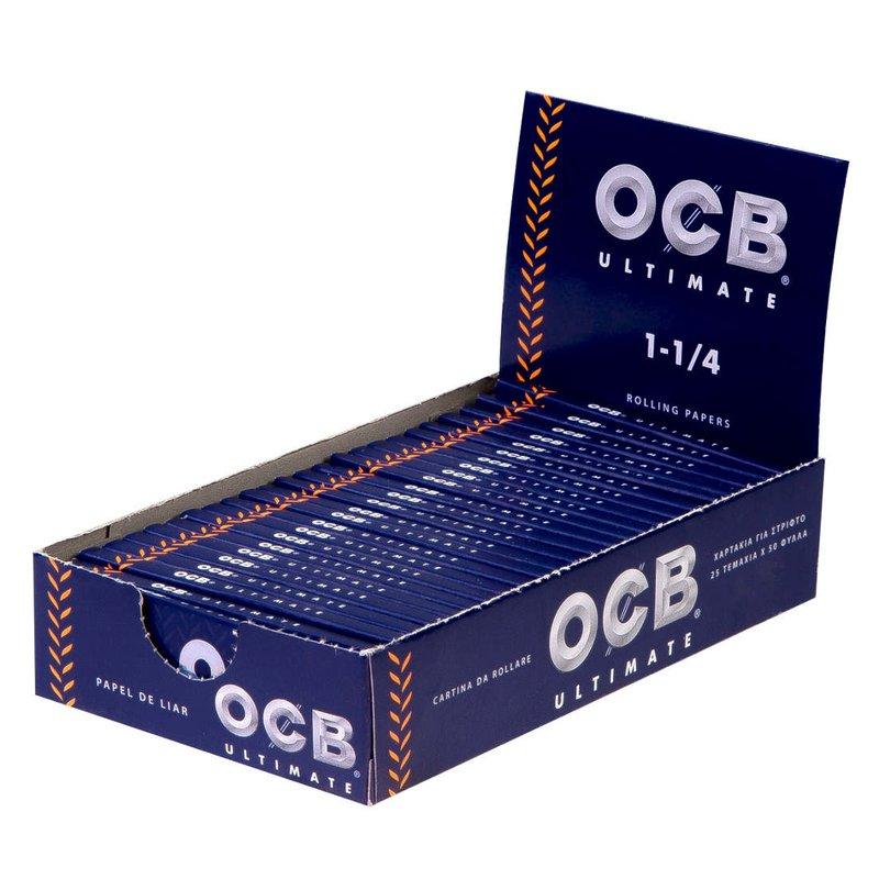 Caixa de Seda OCB Ultimate 1 1/4