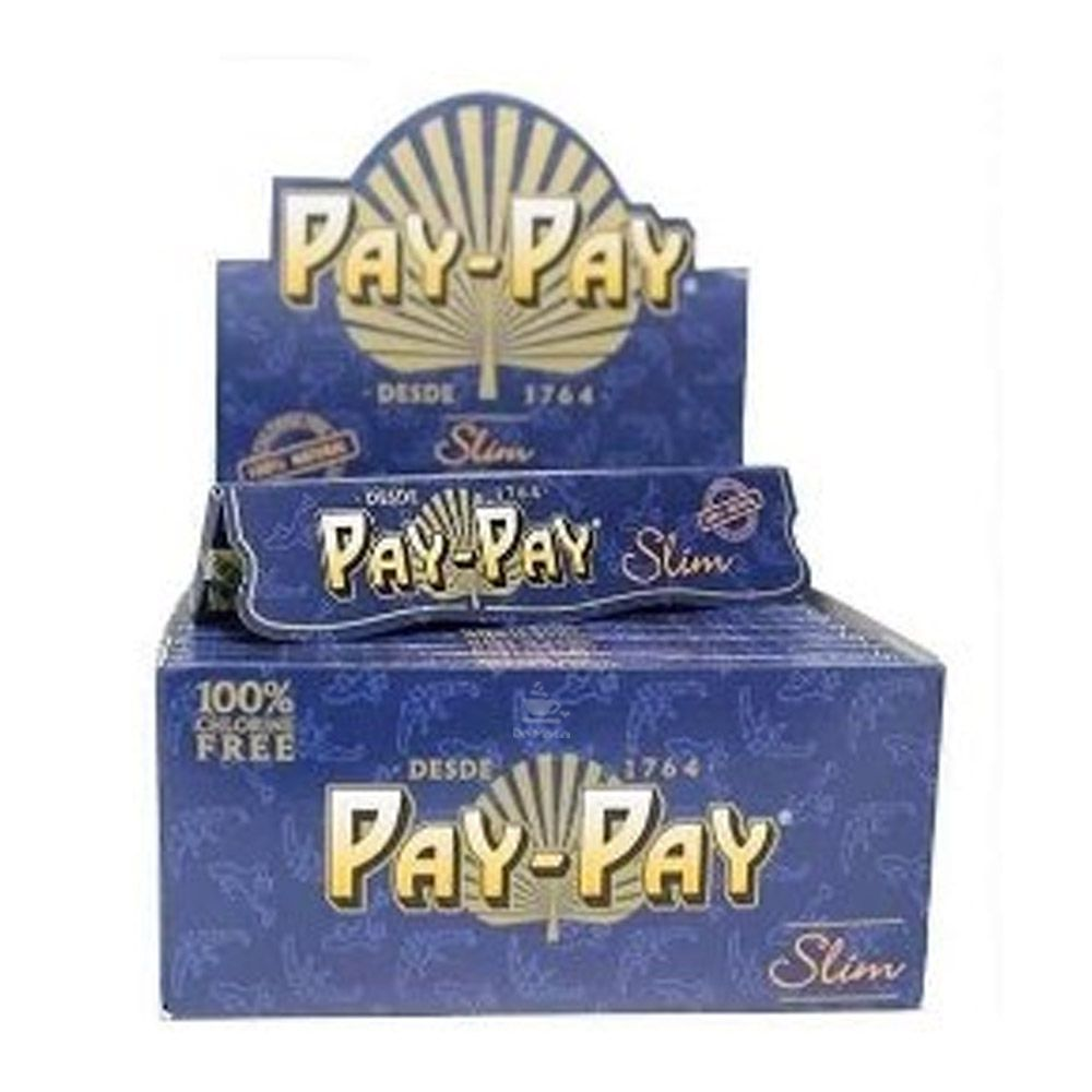Caixa de Seda Pay-Pay Blue King Size Slim