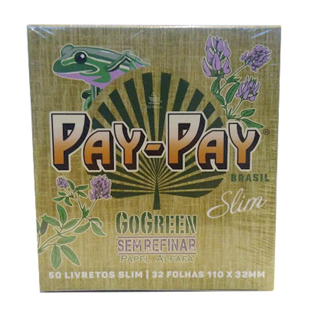 Caixa de Seda Pay-Pay King Size Slim *Edição Especial Brasil*