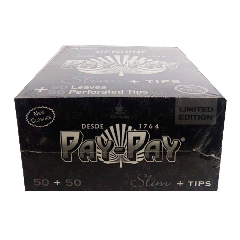 Caixa de Seda Pay-Pay Slim c/ Piteira *Edição Limitada*