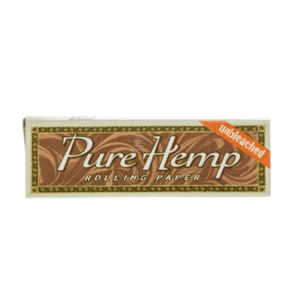Caixa de Seda Pure Hemp Unbleached 1 1/4