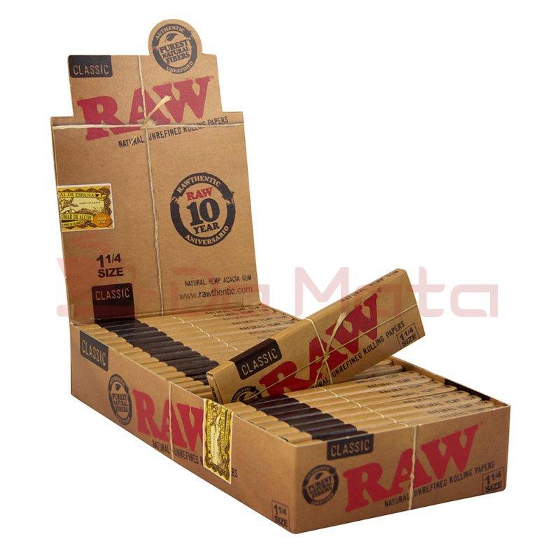 Caixa de seda Raw Classic 1/4