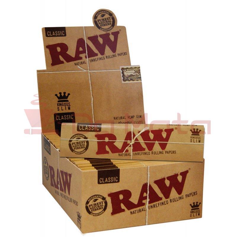 Caixa de seda Raw Classic