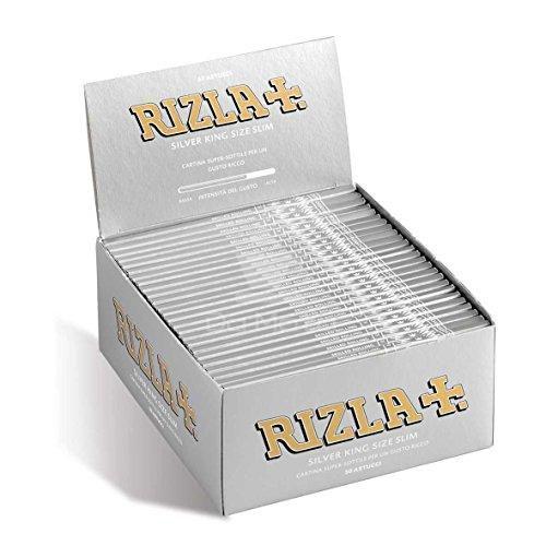Caixa de seda Rizla Silver King Size