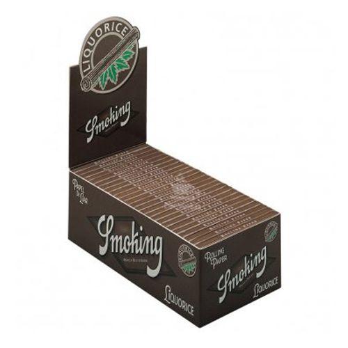 Caixa de Seda Smoking Liquorice 1 1/4