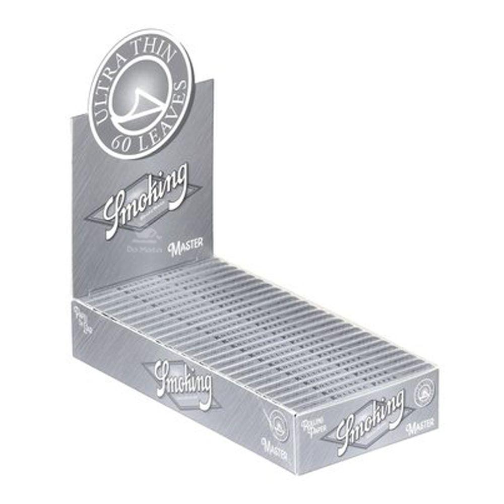 Caixa de Seda Smoking Master Regular