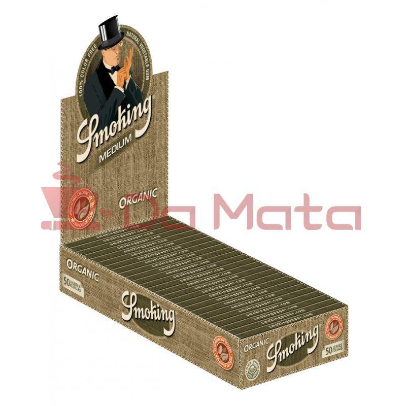Caixa de Seda Smoking Organic