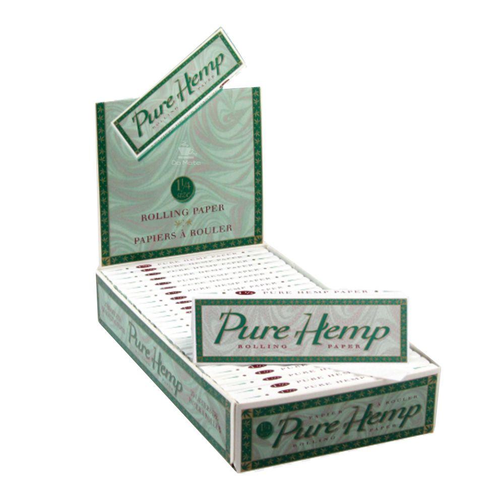 Caixa de Seda Smoking Pure Hemp 1 1/4