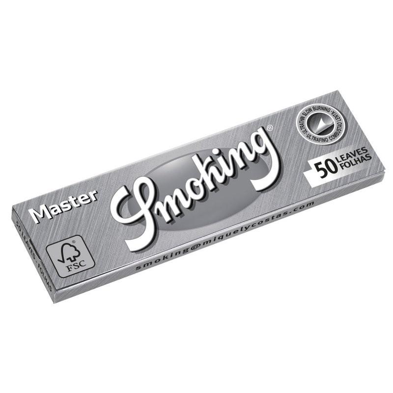 Caixa de Seda Smoking Silver 1/4 - ORIGINAL