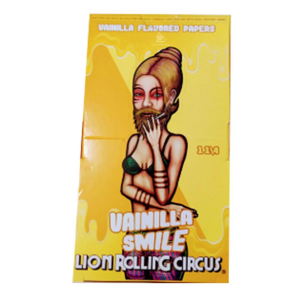 Caixa de Seda Vanilla Lion Rolling Circus
