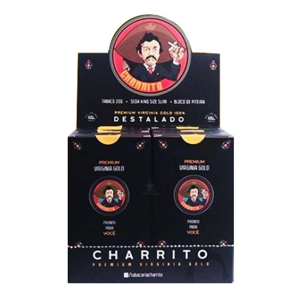 Caixa de Tabaco Charrito Premium Virgínia Gold