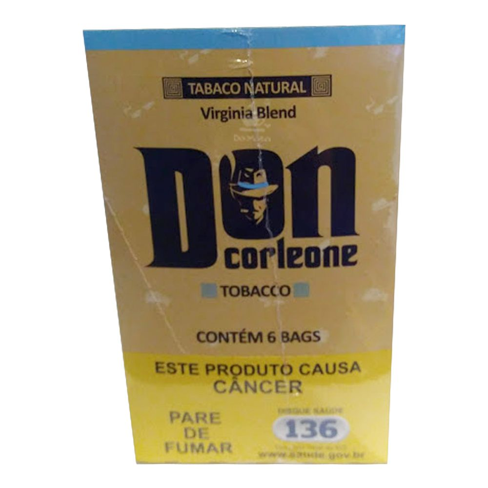 Caixa de Tabaco Don Corleone c/ 6 Bags
