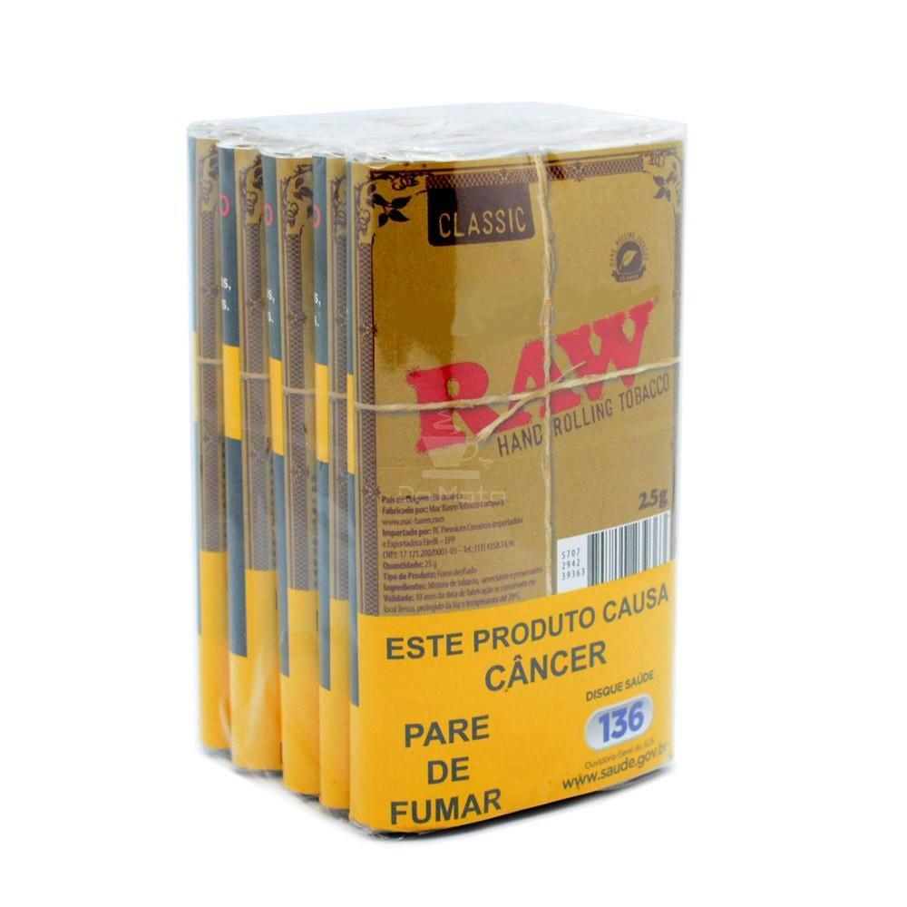 Caixa de Tabaco Raw Classic