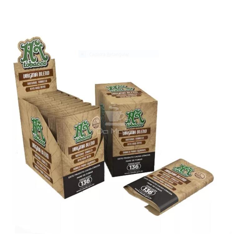 Caixa de Hi Tobacco Virginia Blend Organic