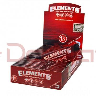 Caixa de Seda Elements - Red 1 1/4