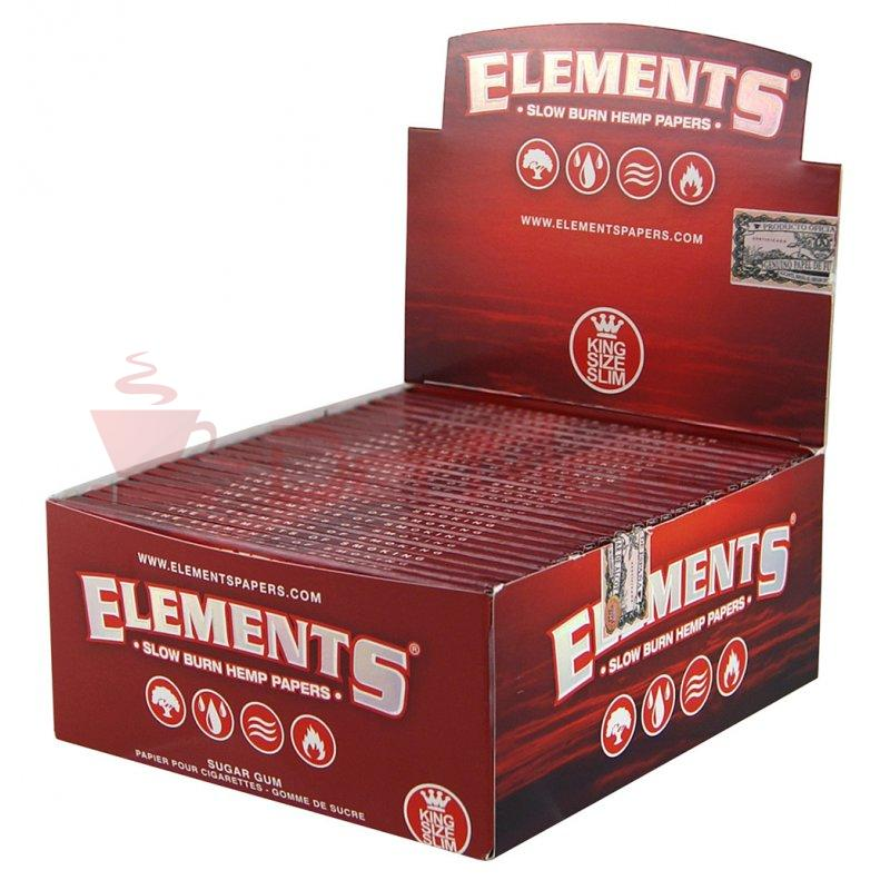 Caixa Elements Red