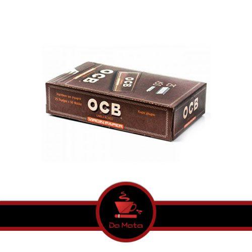 Caixa OCB Brown 1/4 - Não branqueada