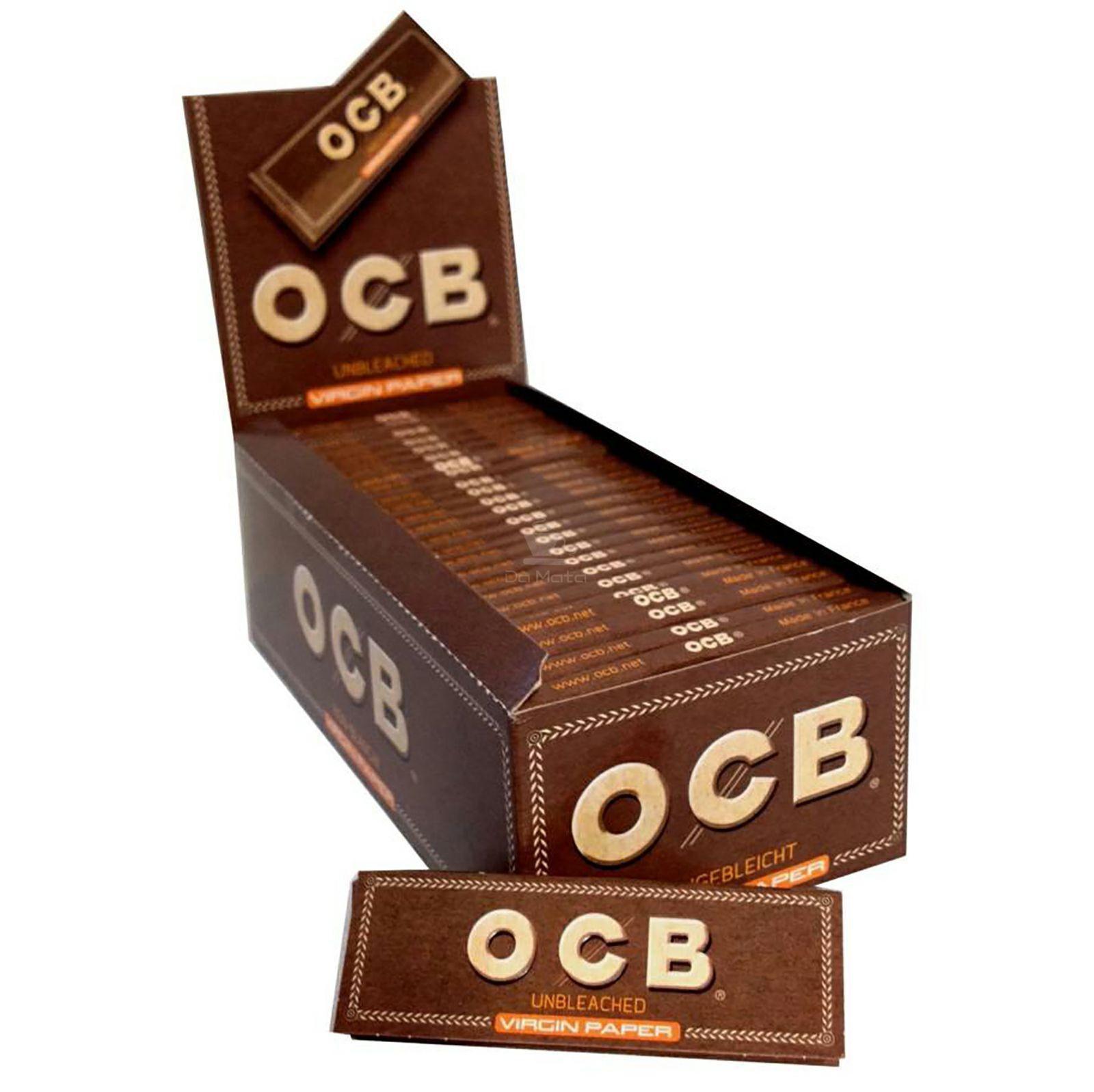 Caixa OCB Unbleached 70mm