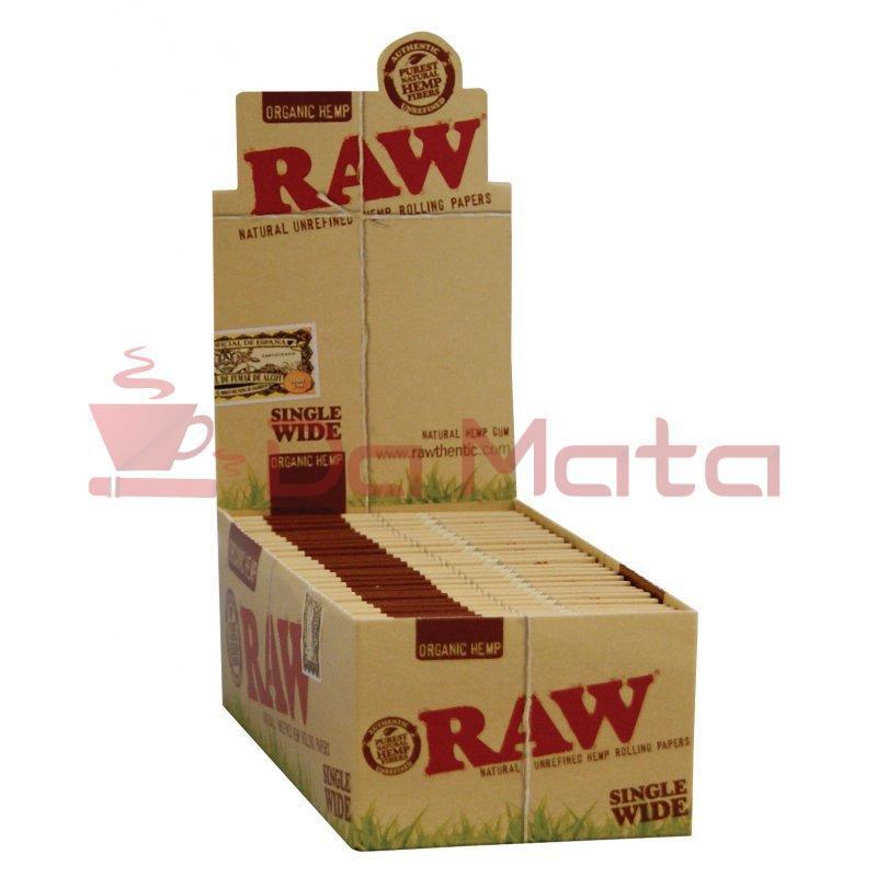 Caixa Raw Organic Hemp Single Wide