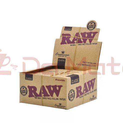 Caixa Seda Raw com piteira