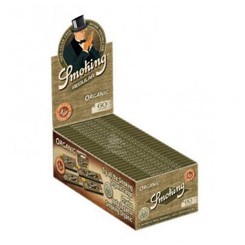 Caixa de Seda Smoking Organic - Regular
