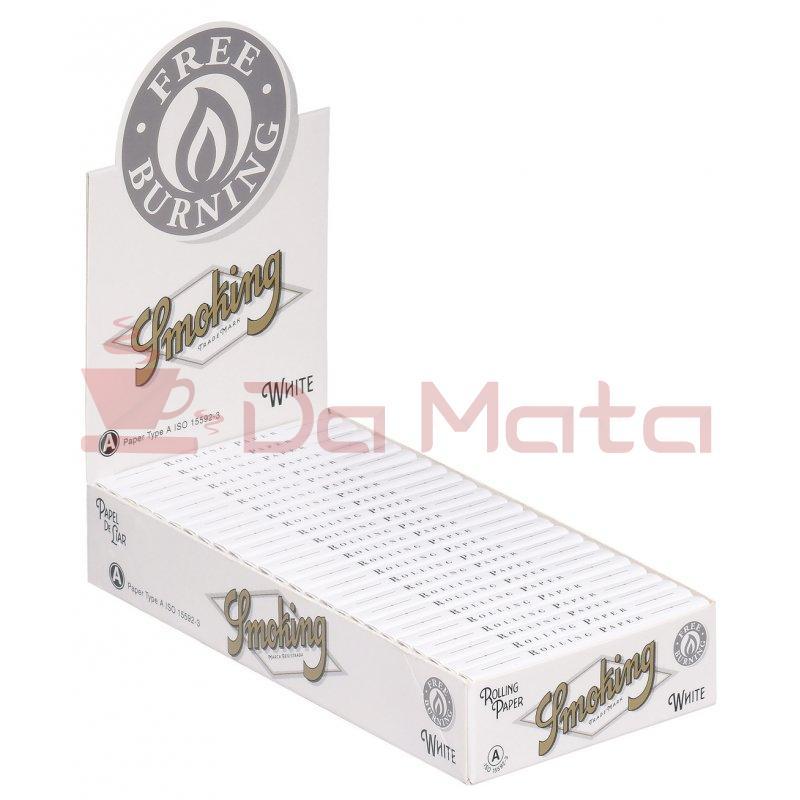 Caixa Smoking  White 1/4