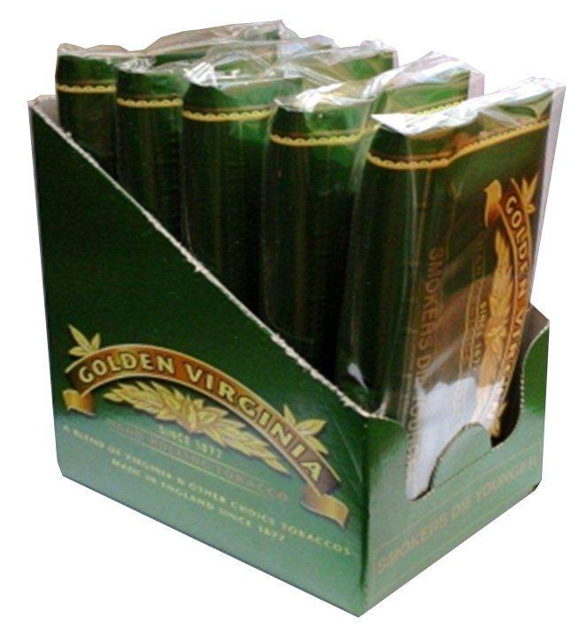 Caixa Tabaco Golden Virginia