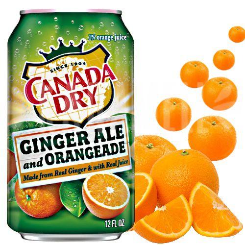 Canada Dry Ginger Ale and Orangeade - EUA