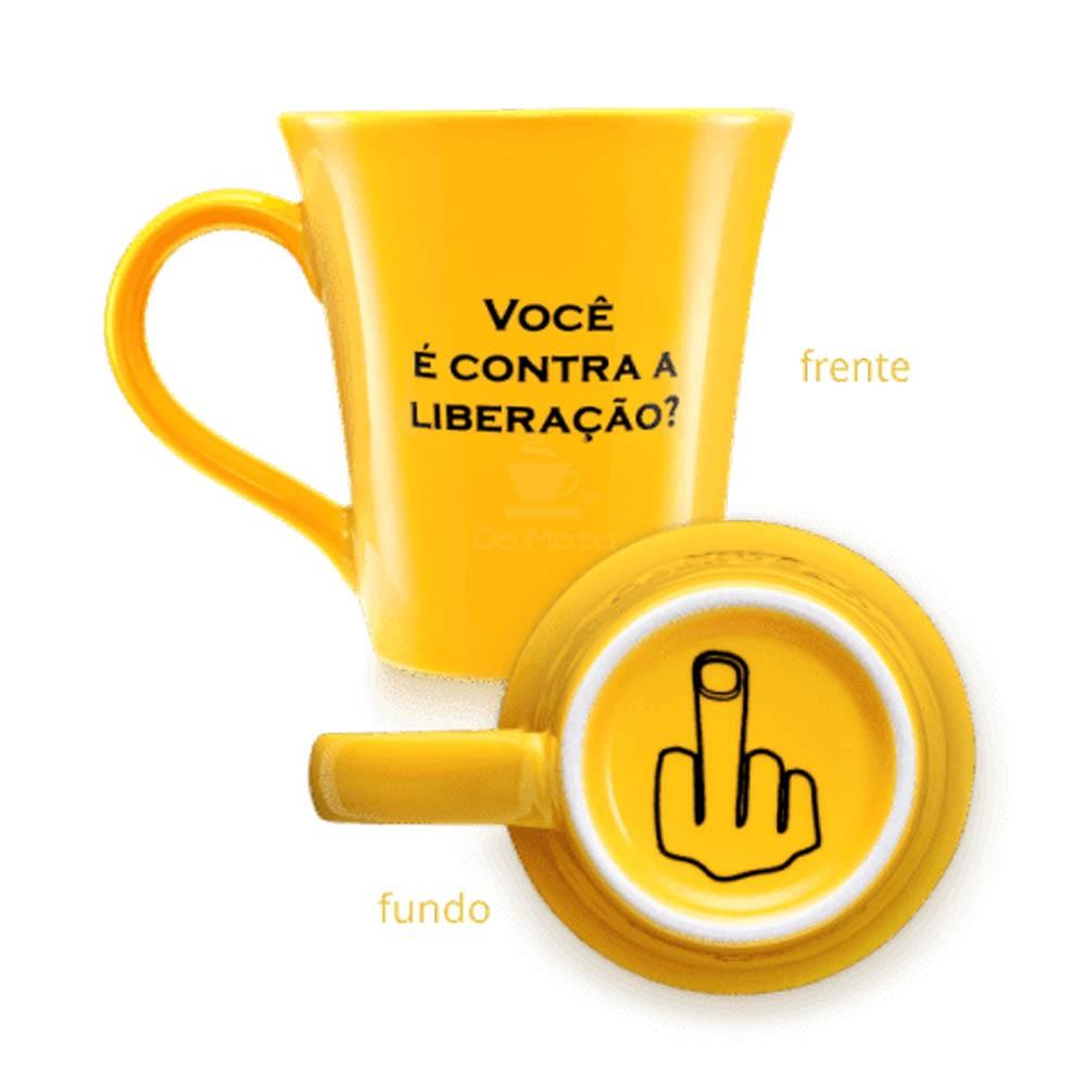 Caneca Yellow Finger Liberação