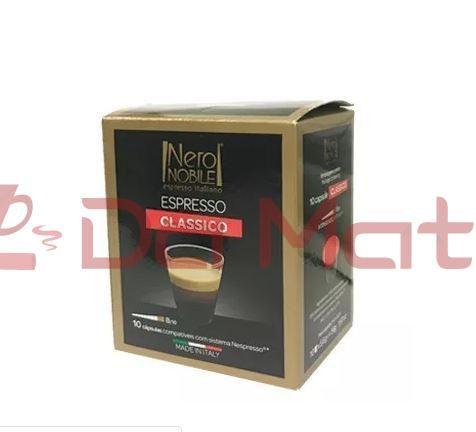 Cápsula de Café Espresso - Nero Nobile - Clássico