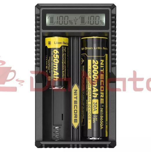 Carregador de Baterias Vaper - Nitecore UM20