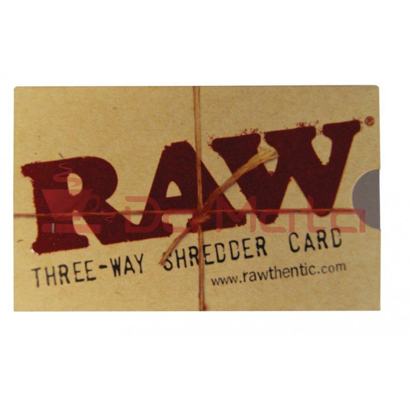 Cartão Triturador RAW