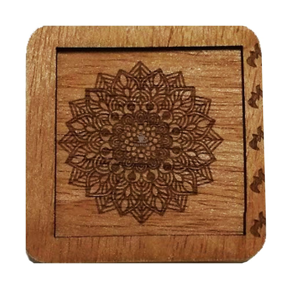 Case 420 Wood Fire Mandala