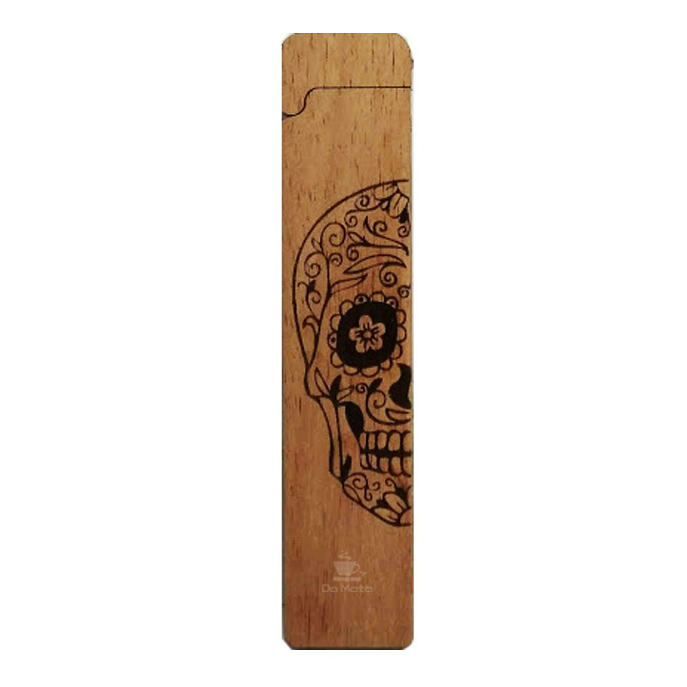 Case Hemp Wood Fire Caveira Mexicana